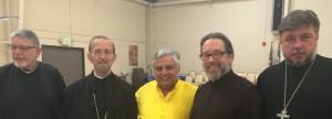 Hindu statesman Zed & Greek Orthodox Metropolitan had dialogue in Nevada
