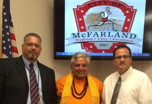 Hindu mantras open California's McFarland City Council 1st time in its 57 years