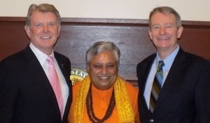Idaho Governor issues proclamation mentioning Senate's 1st Hindu invocation