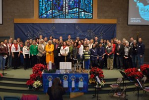 Diverse faiths pray together in Nevada for Peace & Unity